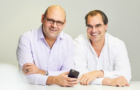 Alex von der Geest and Patrick Kollmann, founders of AddApptr